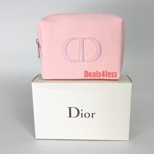 Dior Pouch Cosmetic Bag Organizer Pouch Case NEW